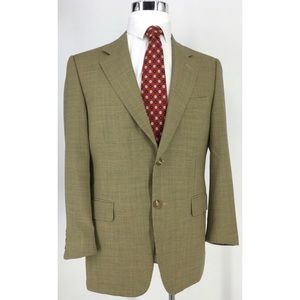 CANALI Houndstooth Check Brown WOOL sport coat